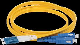 Оптический шнур SC/UPC-LC/UPC SM 9/125 simplex 1м