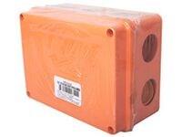 GUSI Коробка распределительная 100?100?50 (6 муфт д32), крышка на винтах, IP55, ОП, оранжевый, нег