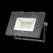 Прожектор светодиодный ДО-20вт 6500К, 1320Лм, IP65 черный Gauss
