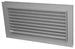 Переточная решетка RedVent РЭД-АП 200х200 RAL 9016