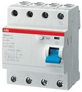 Устройство защитного отключения (УЗО) 4мод. F204 AC-63/0,3 2CSF204001R3630 ABB