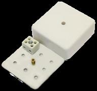 МЕТА 7403-2 Коробка коммутационная огнестойкая 2 конт, 75х75х28мм, IP41