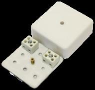 МЕТА 7403-4 Коробка коммутационная огнестойкая 4 конт, 75х75х28мм, IP41