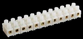 Колодка ЗВИ-15 1.5-6мм 12пар белый 081-10-04/081-10-013 HLT