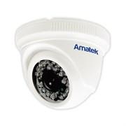 Купольная AHD видеокамера АMATEK AC-HD202S (3,6)