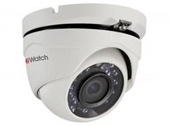 Уличная антивандальная  HD-TVI камера HiWatch DS-T103 (2,8 mm)