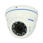 Уличная купольная антивандальная IP камера Amatek AC-IDV203V (2.8-12 мм)