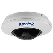 Антивандальная панорамная камера Amatek AC‐IS506 (панорама)