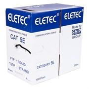 Кабель уличный UTP 5E 4x2xAWG24, OUTDOOR, эконом, двойная оболочка, 305м, CCA (06-826), Eletec