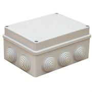 Коробка распаячная (монтажная)для о/п безгалогенная (HF) 150х110х70,10  вводов