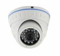 Видеокамера купольная цветная с ИК-подсветкой высокого разрешения LDV-ATC-200SH20 LiteTec мультиформатная с поддержкой стандартов AHD/TVI/CVI/CVBS