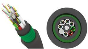 Трансвок ОКЗ-САО-1/3Сп-4(2) (ОКЗ-САО-1/3(2.0)Сп-4(2)) (1.5кН) Кабель волоконно-оптический 9.5/125 одномодовый, 4 волокна, внутризоновый, бронированный стальной лентой, прокладка в каб.канализации, тоннелях, черный
