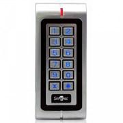 Автономный контроллер со встроенными считывателем EM и Wiegand-входом, память на 2500 пользователей, дальность 8 - 15 см, частота 125 кГц Smartec ST-SC040EK