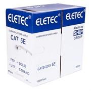 Витая пара ETS кабель UTP 5E 4x2xAWG24, эконом, 305м, CCA (медь 20%), test 40м