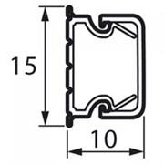 Кабель канал пластик 15x10мм (2м)