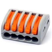 Клемма универсальная 5-проводная BLOX FJ-405 5x0.08-4/2.5 мм2