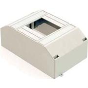 Корпус модульный навесной пластиковый на 4 автомата  DEKraft ЩРН-П-2/4 IP30