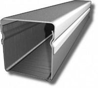 абельный канал металлический оцинкованный, 15х15х2000мм, сечение 0,4мм, Гефест