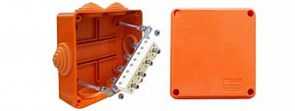 Коробка JBS100 трехполюсная (0,15…2,5 мм²) 100х100х55 (43007HF)