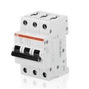 Автоматический выключатель модульный ABB S203 3п
