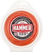 Леска триммерная Hammer 216-811, 2 мм х 15 м